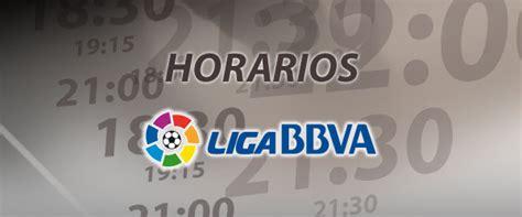 Horarios Jornada 31   Liga BBVA 2012 13   Nuevo Fútbol