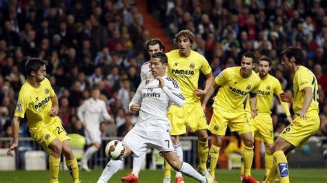 Horarios y cómo ver el Real Madrid Villarreal de Liga BBVA