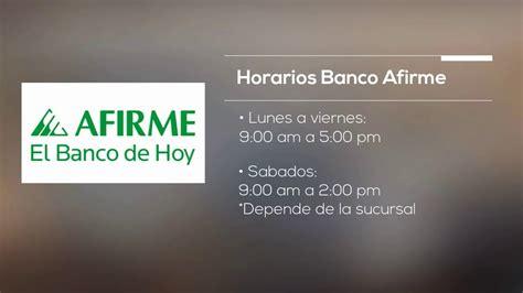 Horarios y sucursales bancarias: Banamex, Banorte ...