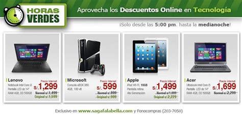Horas Verdes Saga Falabella: Miércoles 7 de Agosto 2013   Perú