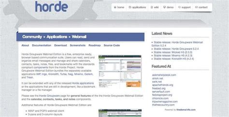Horde Email Login Page URL | Email service, Login page ...