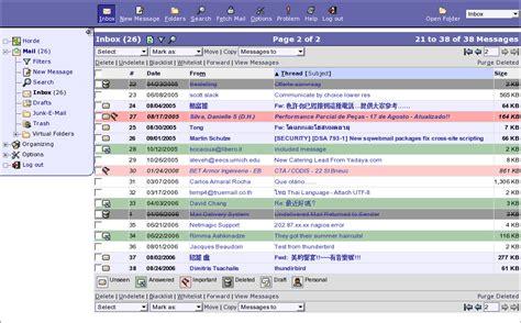 Horde Webmail — Portail Webmail