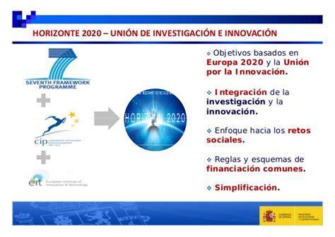 Horizonte 2020: Los programas europeos de I+D+i y su ...
