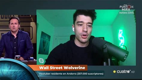 Horizonte : Wall Street Wolverine y otros  youtubers ...