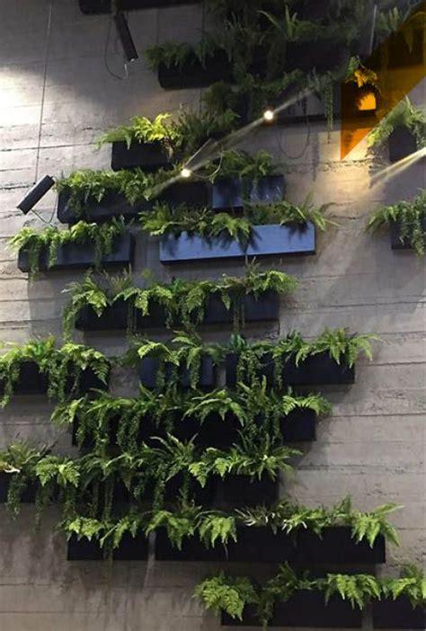HORMIGÓN HORIZONTAL GRIS   Pared vegetal, Decoración de ...