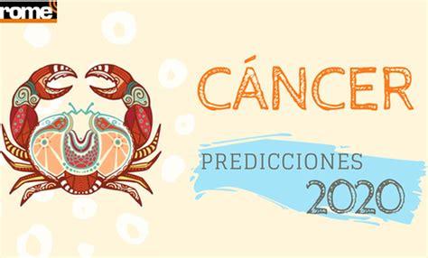 Horóscopo 2020 Cáncer predicciones salud dinero amor signo ...
