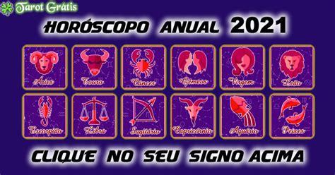 Horóscopo Anual 2021 – Previsões para os signos