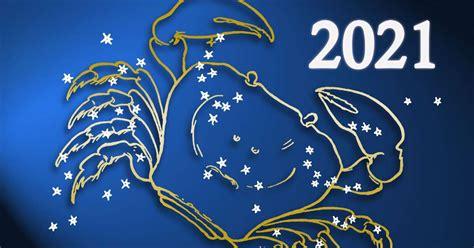 Horóscopo anual de Cáncer: 2021