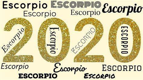 Horóscopo Anual   Escorpio para el año 2020!   YouTube