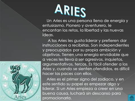 #horoscopo #aries #como #es #descripcion #tarot #zodiaco # ...
