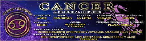 Horóscopo Cáncer 11 de Mayo 2020   Venus y Salomon