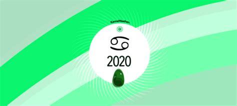 Horóscopo Cáncer 2020, mes a mes