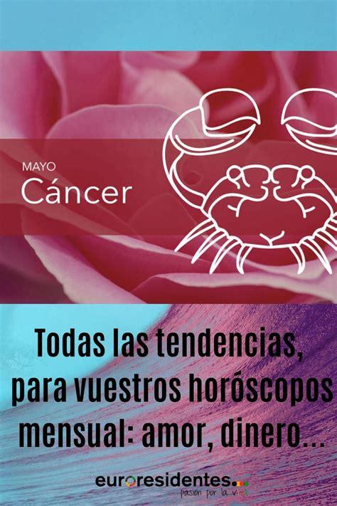 Horóscopo Cáncer Mayo 2020   Horóscopo Mensual en 2020 ...