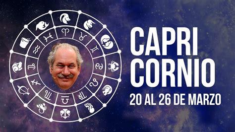 Horóscopo CAPRICORNIO: 20 de marzo al 26 de marzo  2017 ...