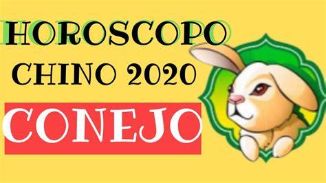 Horoscopo Chino 2020 Conejo   YouTube