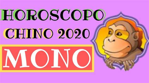 Horoscopo Chino 2020 Mono   YouTube