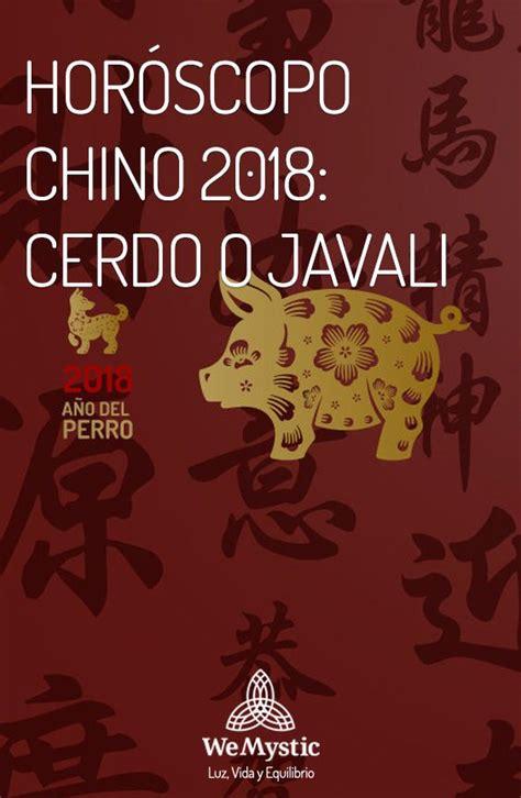 Horóscopo Chino 2020 para Cerdo o Jabalí | Año del perro ...
