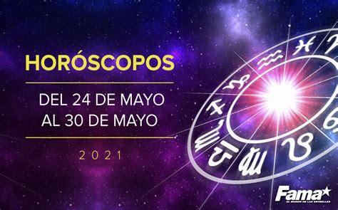 Horóscopo de hoy: Semana del 24 al 30 de mayo de 2021