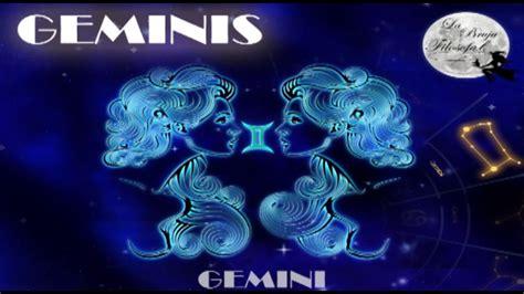 Horóscopo del signo de GEMINIS para el día de hoy 11 de ...