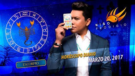 Horóscopo Diario de Escorpio   Marzo 20, 2017   YouTube