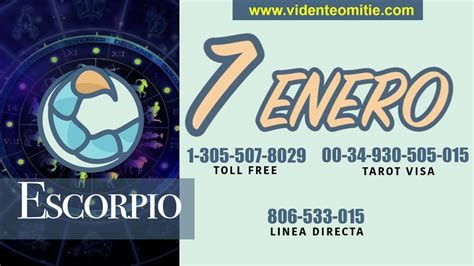 Horóscopo Diario ESCORPIO para hoy en el día 7 de Enero ...