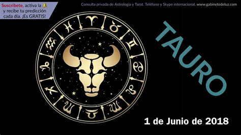 Horóscopo Diario   Tauro   1 de Junio de 2018   YouTube