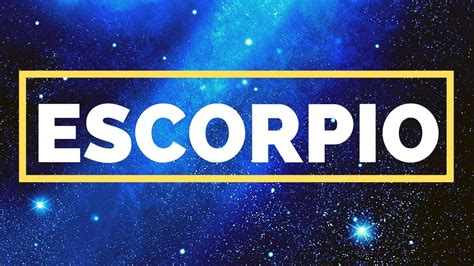 Horoscopo Escorpio Hoy Miercoles 25 De Diciembre 2019 ...