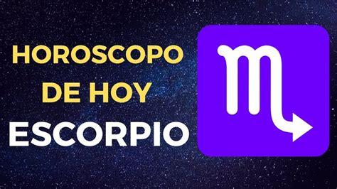 Horoscopo Escorpio Hoy Sabado 4 De Enero 2020   YouTube