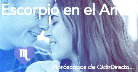 Horóscopo Escorpio para Hoy   Horóscopo Diario de Amor