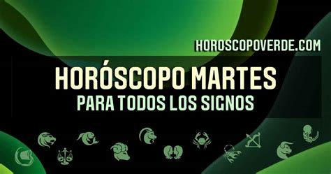 HORÓSCOPO MARTES 18 MAYO 2021 PARA TODOS LOS SIGNOS DEL ...