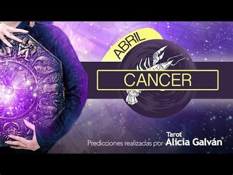 Horóscopo Mensual Cancer Abril 2017  ️   Alicia Galván ...