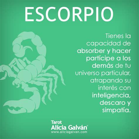 Horóscopo Mensual  Escorpio   Escorpio, Signo del zodiaco ...