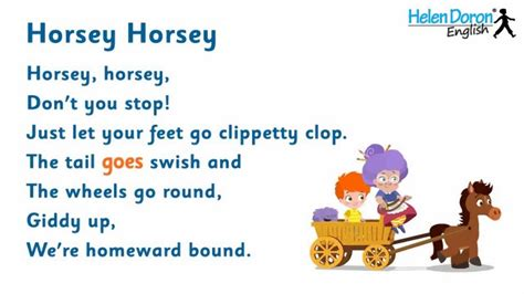 Horsey Horsey   English Songs for Kids with Lyrics   YouTube
