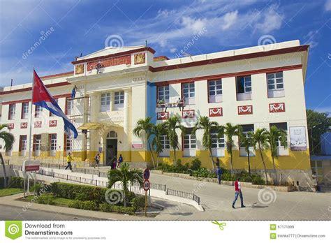 Hospital Nacional En La Habana, Cuba Imagen de archivo ...