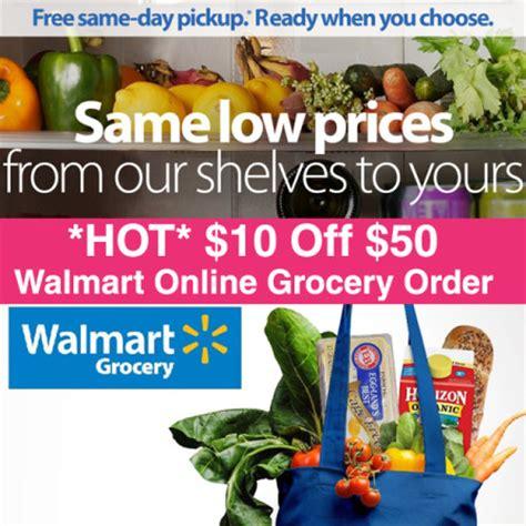 *HOT* $10 Off $50 Walmart Grocery Order + FREE Pickup ...