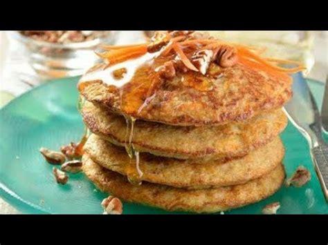 Hot cakes de zanahoria con plátano y avena sin harina ...