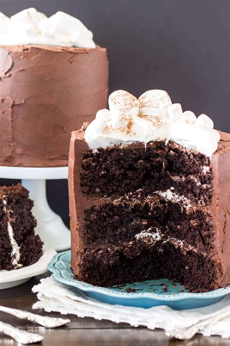 Hot Chocolate Cake   Sugar Spun Run