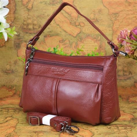 Hot sale High quality Genuine leather small messenger bags ...