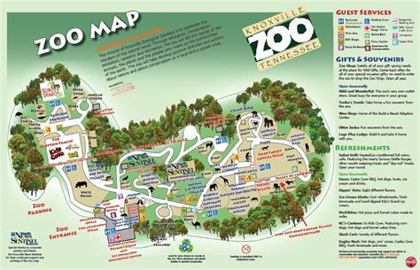 Hours & Tickets | Zoo map