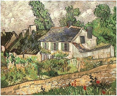 Houses in Auvers by Vincent Van Gogh   239   Painting
