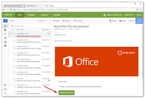 How can I change my Office 365 password? – Support | One.com