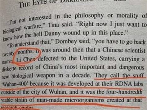 How did this author predict the Wuhan virus by name and ...