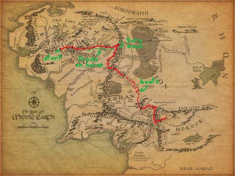 How far did Frodo & Sam actually walk?  Part 2  : geek