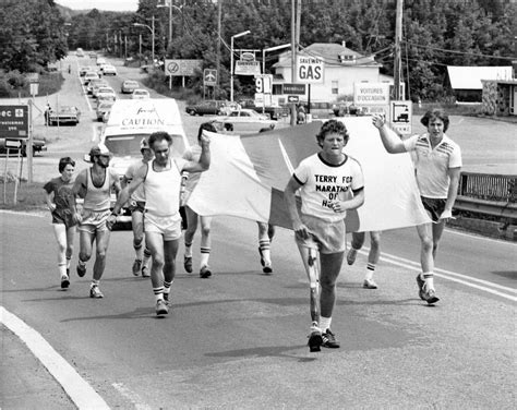 How far did Terry Fox run? As long as Europe — or half of ...