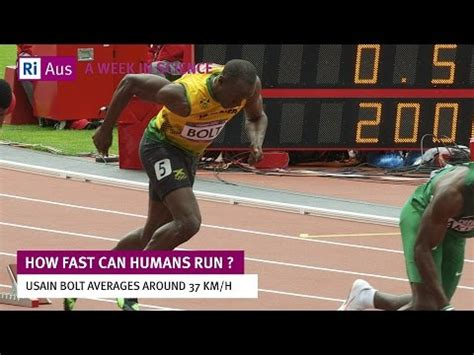 How Fast Can Humans Run?   A Week in Science   YouTube