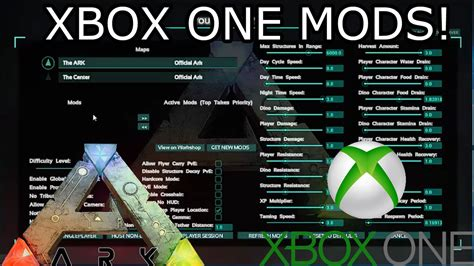 HOW MODS WILL WORK ON ARK XBOX ONE?!   ARK: SURVIVAL ...