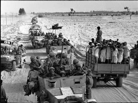 How the 1967 Arab Israeli war began