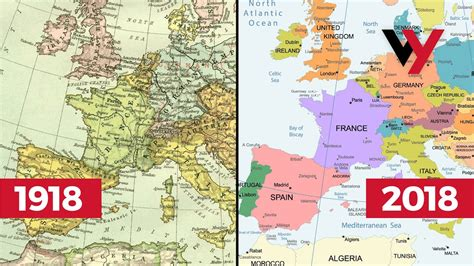How The World Map Has Changed In 100 Years  Since WWI ...