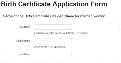 How to Apply for a Birth Certificate Online & Procedure to ...