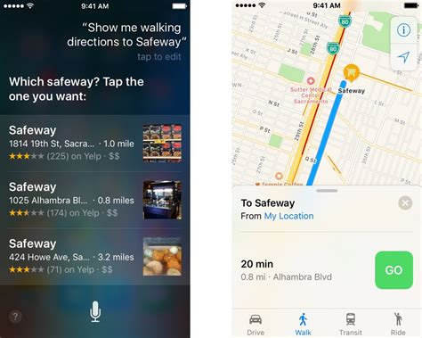How to ask Siri for walking and transit directions | iMore